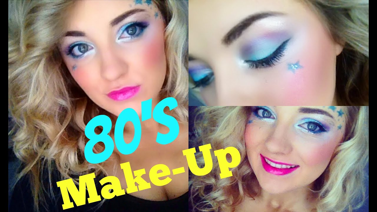 80s Girl Makeup Tutorial Youtube - 80s-eye-makeup