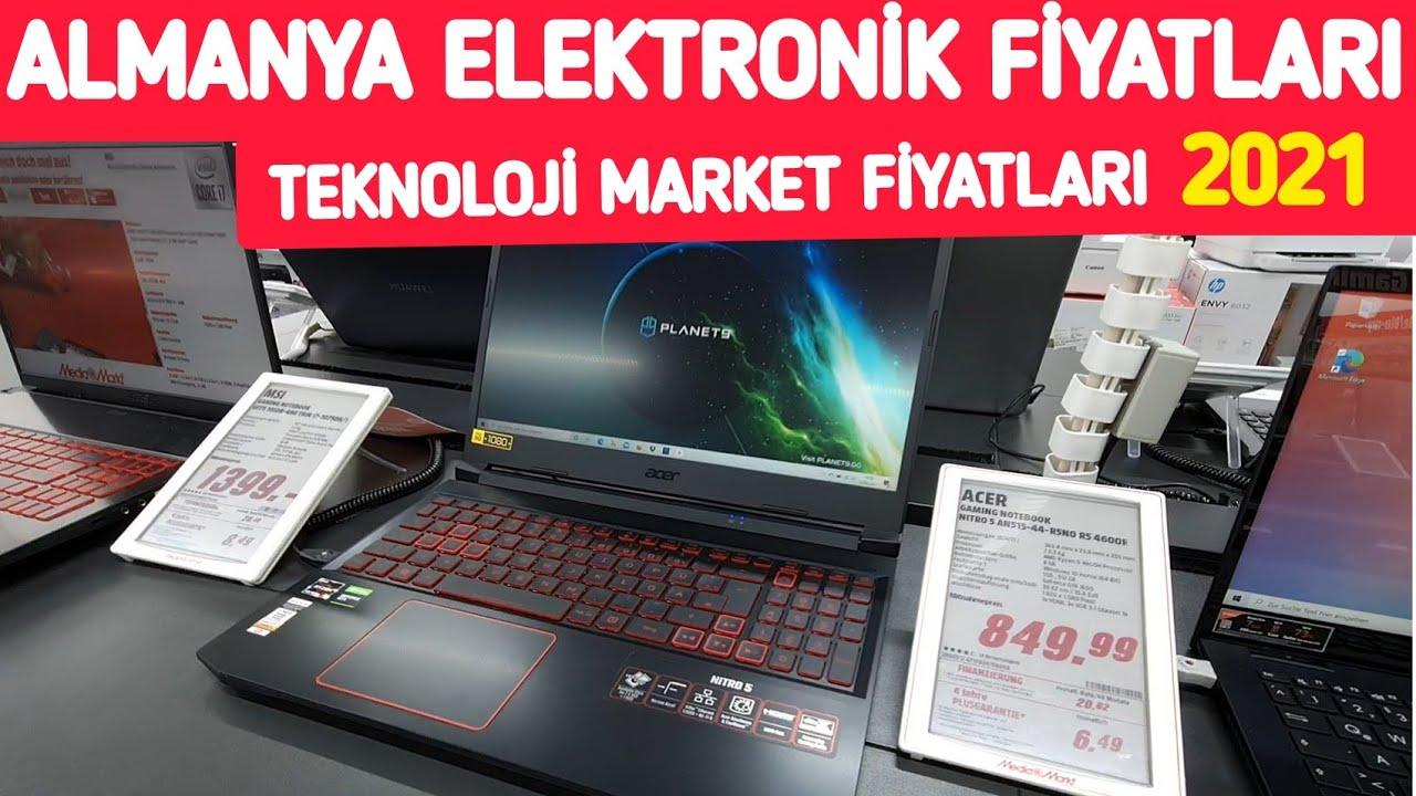 Almanya´da Teknoloji Market Fiyatları - Güncel Elektronik Fiyatları 2021