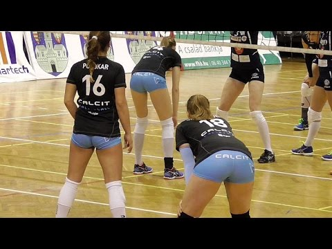 Volleyball Girls Showing Their Best Form