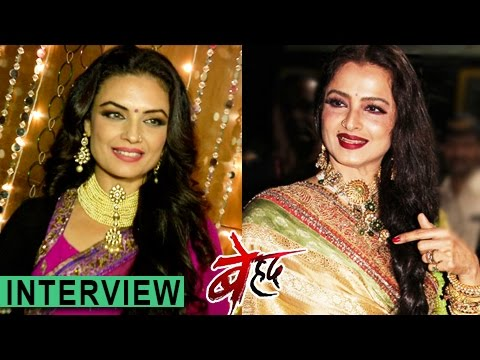 Jhanvi REACTS On Being REKHA's Look Alike - Exclusive Interview | बेहद | Beyhadh