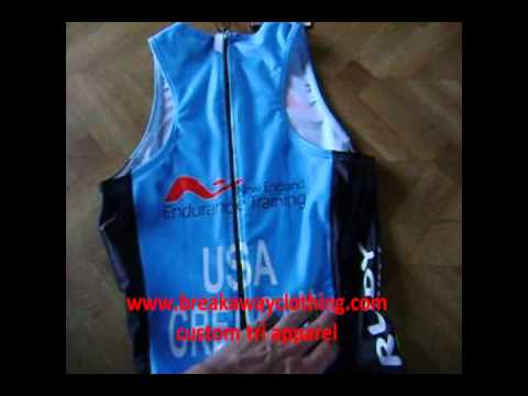 custom tri suit, single piecees neet tri suit, triathlon shorts and tops  customized wmv