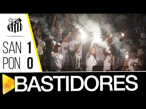 OBRIGADO, NAÇÃO SANTISTA: Santos 1 x 0 Ponte Preta | BASTIDORES | Paulistão (10/04/17)