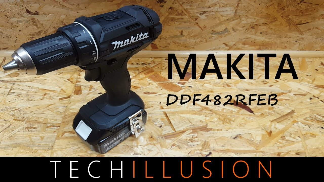 makita akkuschrauber 18v ddf482rfeb review youtube. Black Bedroom Furniture Sets. Home Design Ideas