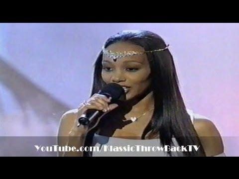 "Monica - ""Angel of Mine"" Live (1999)"