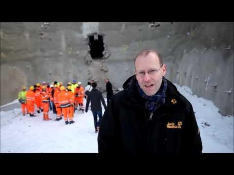 Tunneldurchschlag in Darmsheim