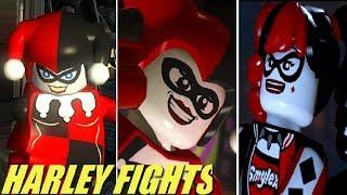 Evolution of Harley Quinn Battles + Cutscenes in LEGO Batman Games (2008-2017)