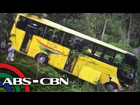 43 sugatan sa aksidente sa bus