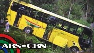 43 sugatan sa aksidente sa bus