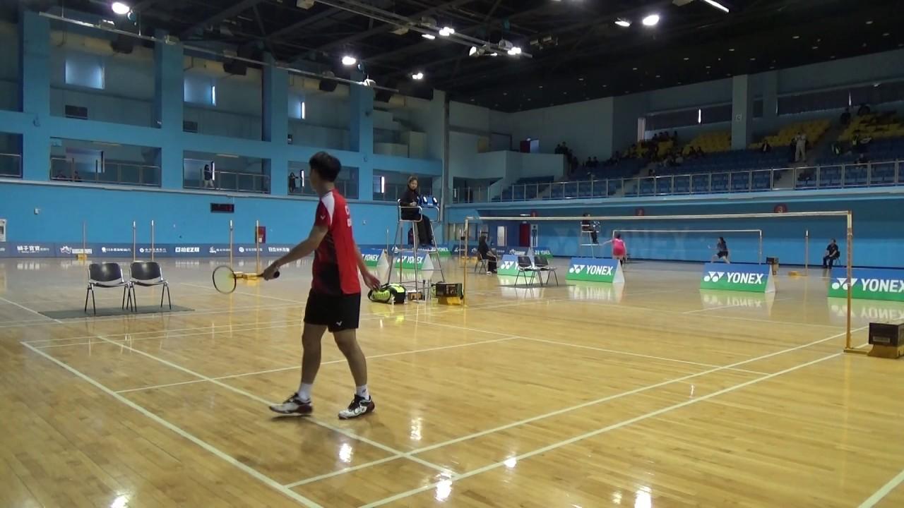 20170110男甲單二三名之爭王子維(合庫)vs陳俊維(合庫)1-2 - YouTube