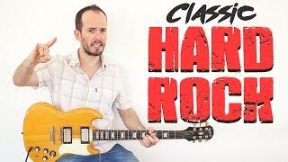 Cómo Tocar Hard Rock Clásico con Guitarra Eléctrica + TAB