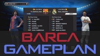 PES 2013 - Best (Barcelona) Gameplan / Formation !!! (HD)