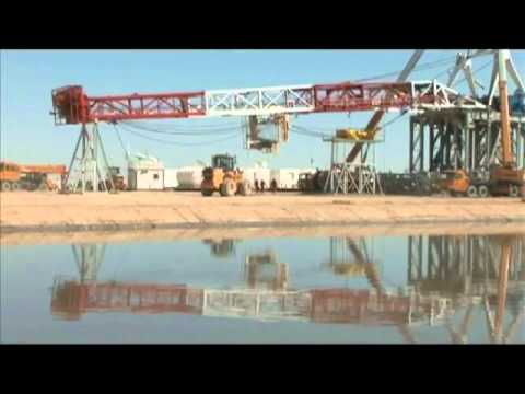 Drilling Rig Move Overview by TRUCKOMAN