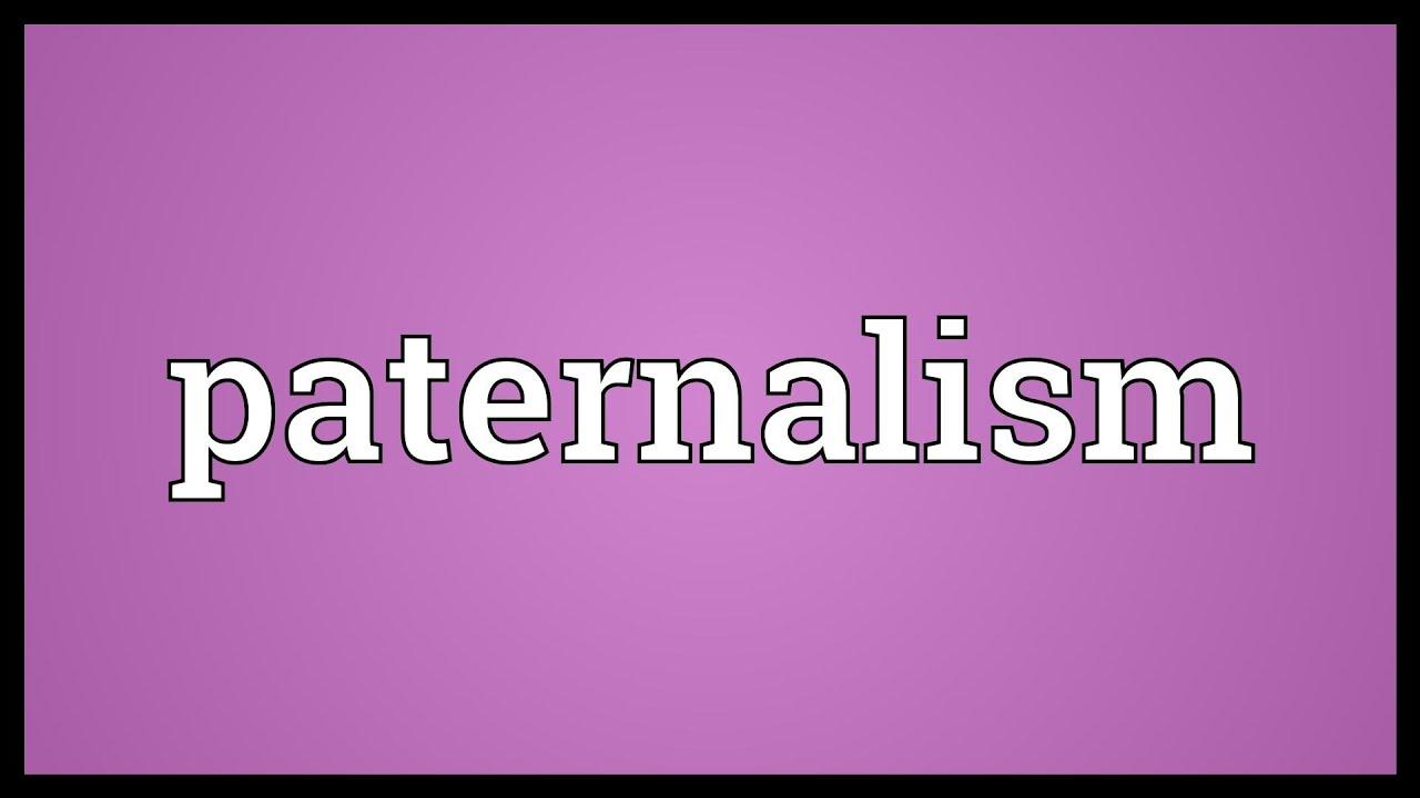 Paternalismi