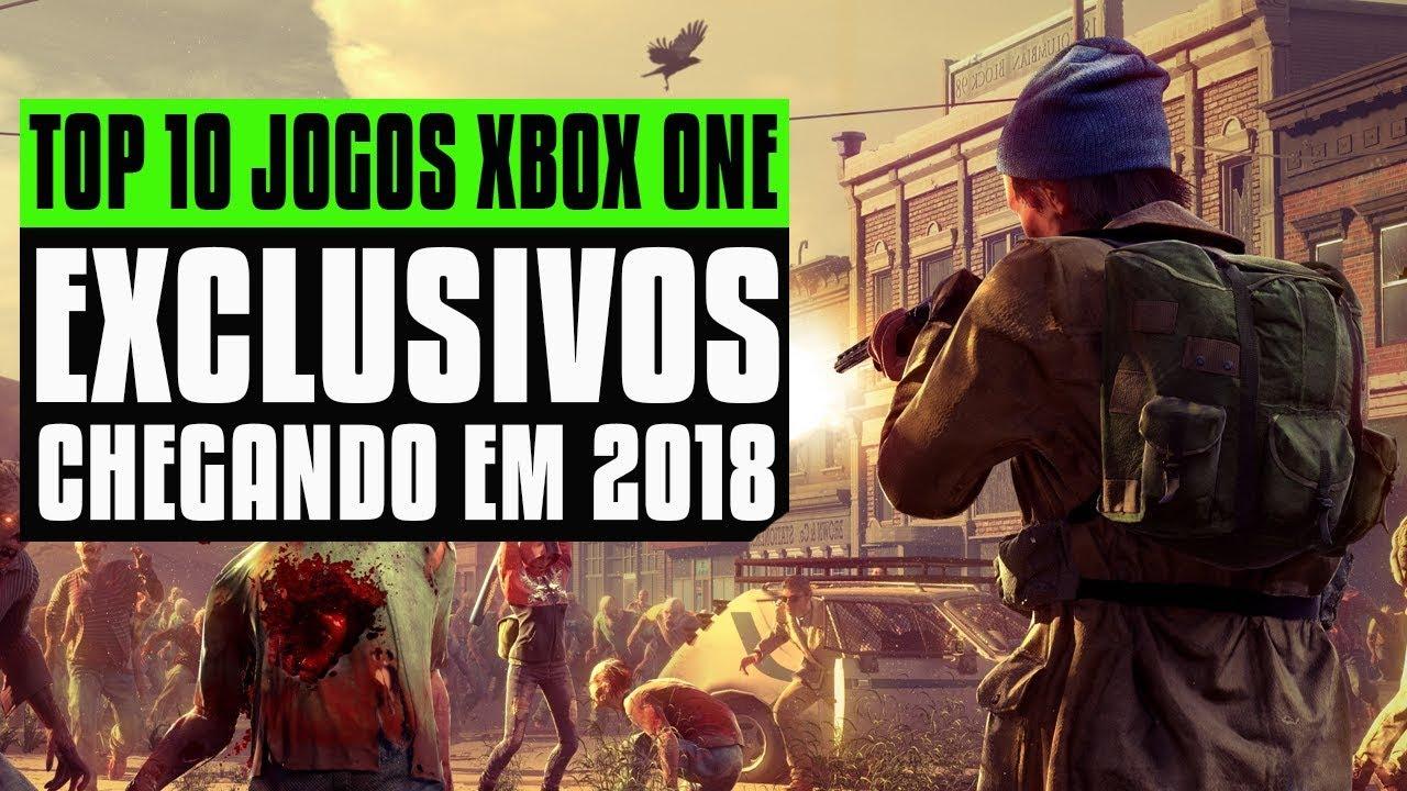 Top 10 Exclusivos Para Xbox One Chegando Em 2018 I 10 Exclusivos