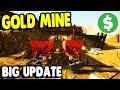 Full-Scale $1,000,000 GOLD MINE UNLOCKED huge UPDATE | Gold Rush Gameplay
