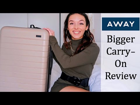 AWAY Bigger Carry-On Review   Best Luggage 2019