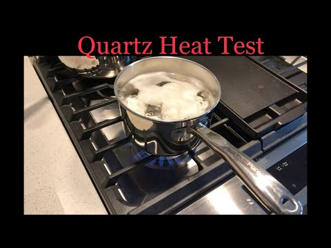 Quartz Vs Granite Heat Test