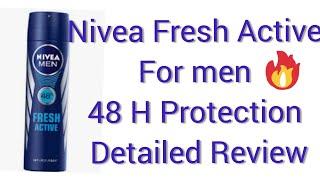 Nivea Men Fresh Active Deodorant For Men ll Best Deo For Summers ll