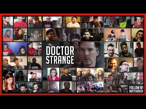 DOCTOR STRANGE Official Trailer 2 MEGA Reaction's Mashup (50+ People)