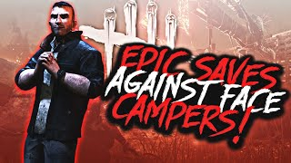 ESCAPES From Camping And Tunneling Killers (Dead By Daylight Ps4)