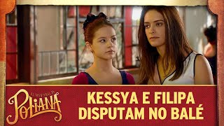 Kessya e Filipa disputam no balé | As Aventuras de Poliana