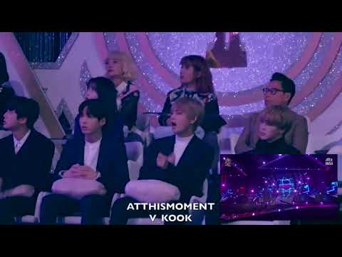 ⌜180110⌟ BTS Reaction ▸ BLACKPINK 'As if it's your last' @The 32nd GDA