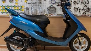 Обзор скутера Yamaha Jog ZR Evolution (Yamaha Jog ZR Evolution review)