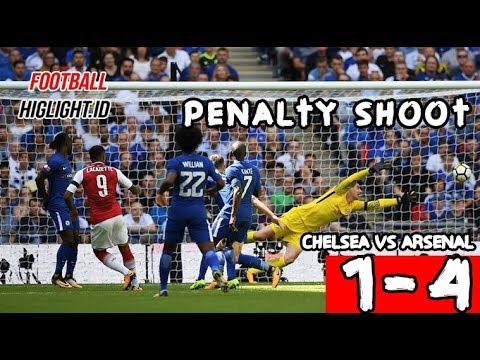 Download Arsenal vs Chelsea Penalty Shootout⚫HD⚫4-1⚫6 august 2017⚫#Footballhighlight