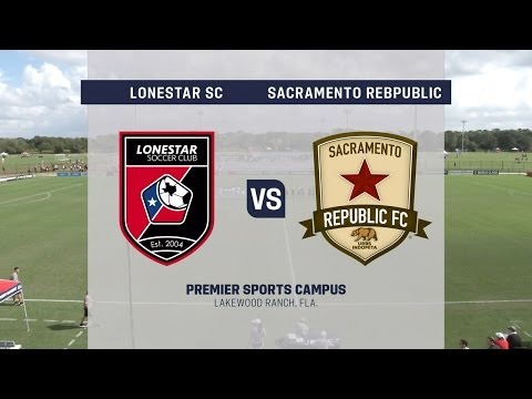 Development Academy Showcase: U-17/18 Lonestar SC Academy vs. Sacramento Republic FC