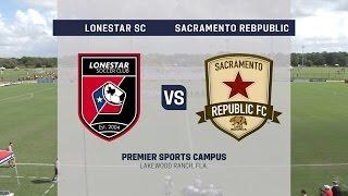 Development Academy Showcase: U-17/18 Lonestar SC Academy vs. Sacramento Republic FC