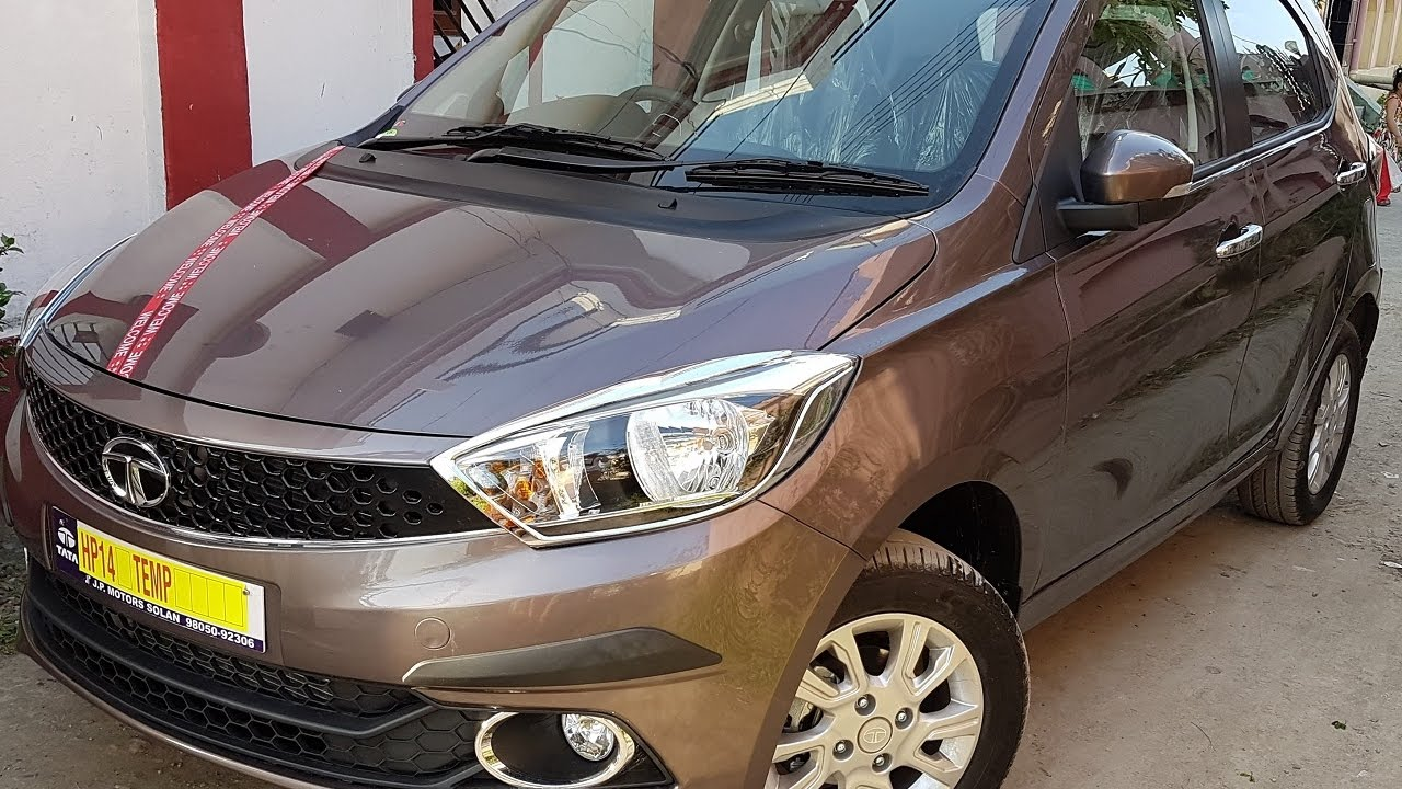Tata Tiago Xz Expresso Brown Color Accesories Included