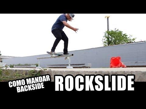 Como Mandar Backside Rockslide