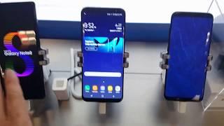 Tops de Linha Iphone VS Galaxy - Preços Nos Estados Unidos - Setembro 2017
