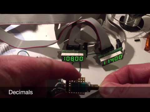 Alps dual axis rotary encoder