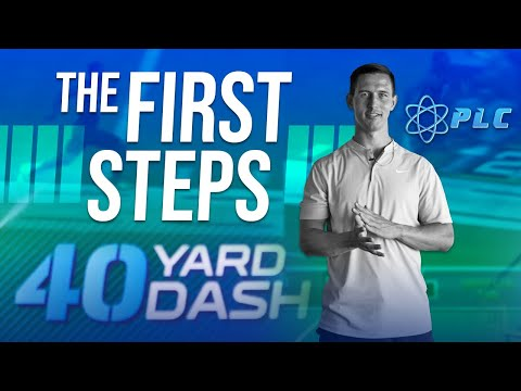 The First 10 Steps In The 40-Yard Dash | Mechanics With Morey