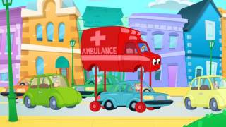 My Red Ambulance Helps The Animals  +1 hour My Magic Pet Morphle kids videos compilation
