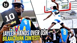 Jaylen Hands DUNKS OVER OSN & Wins 2017 Ballislife All American Dunk Contest Pres By Eastbay!!