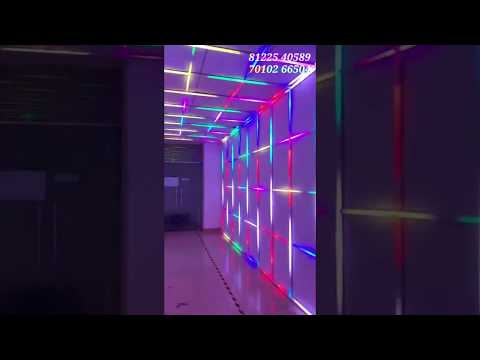 Tunnel LED Lighting Design | Welcome Entry Concept India +91 81225 40589 (WA)