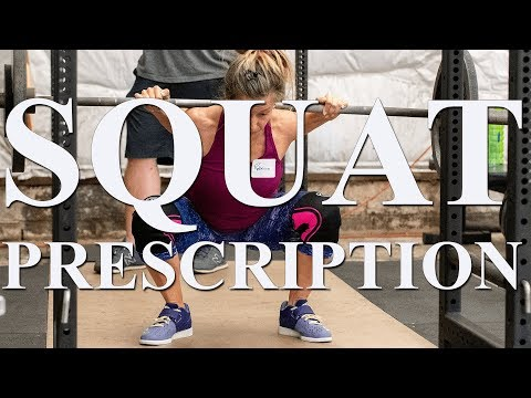 The Squat Prescription with Dr. Jonathon Sullivan