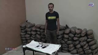 اكتشاف مخزن سري يحتوى على 250 كيلو بانجو في أتوبيس بالإسماعيلية.. فيديو