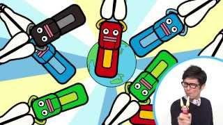 片手で拍手する玩具「パチパチクラッピー」のテーマソングにオリラジの...