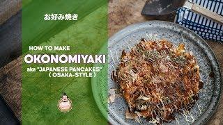 How to Make Okonomiyaki | Easy Japanese Cooking | Recipe