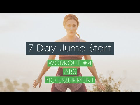 7 Day Jump Start - Workout #4 Obliques & Abs