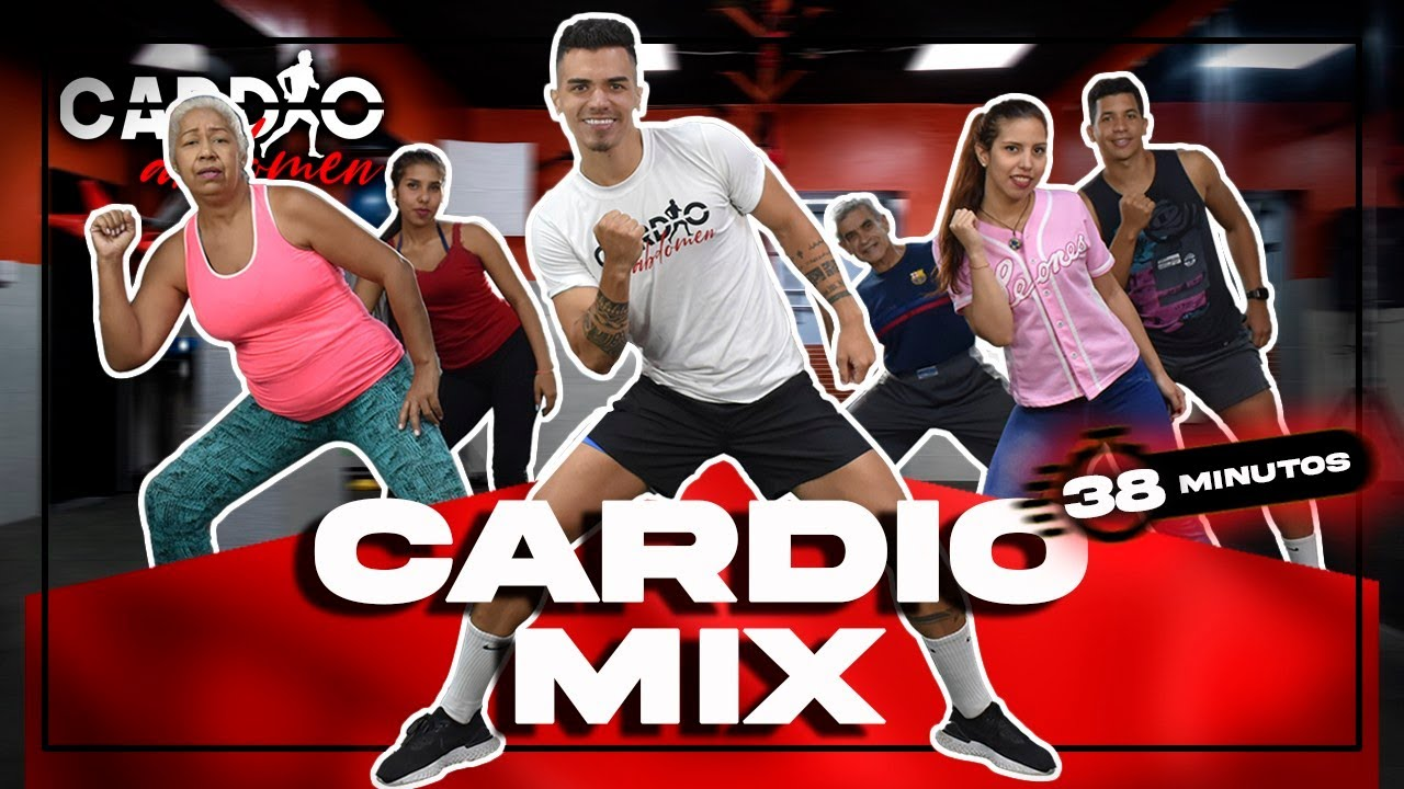 Rutina de CARDIO para QUEMAR GRASA RAPIDO | Cardio Mix 38 Minutos