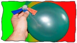 Как сделать вертолет с шариковым двигателем. DIY video How to make a helicopter