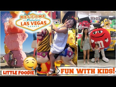 Best Things To Do And Eat In Vegas With Kids- Toddler  Family Friendly Free And Fun