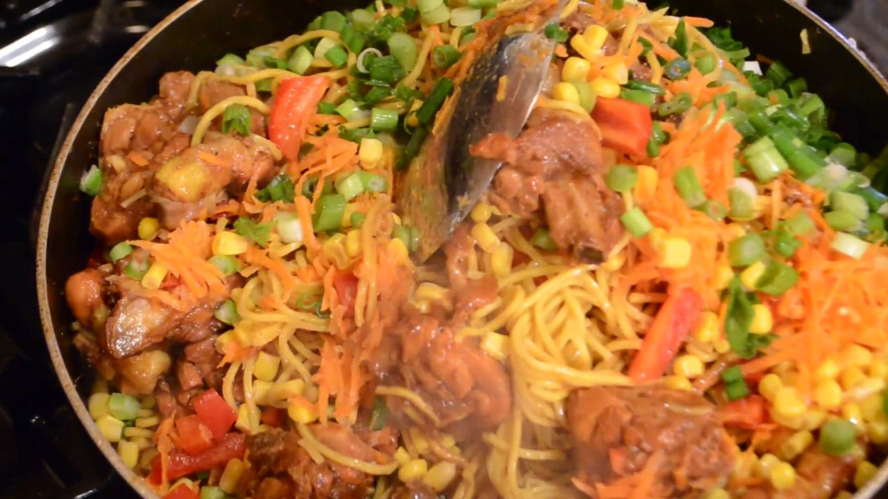 Chicken chow mein guyanese style youtube chicken chow mein guyanese style forumfinder Images