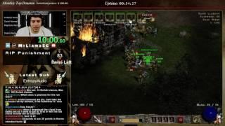 Diablo 2 - 8 Man CLASSIC Paladin Speedrun (Boo MrLlama)