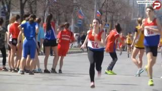 Сильнейший забег школьников - 74-я областная легкоатлетическая эстафета г.Ульяновск 2017.
