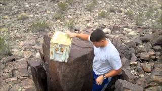 ATV Geocaching in the Mojave Desert